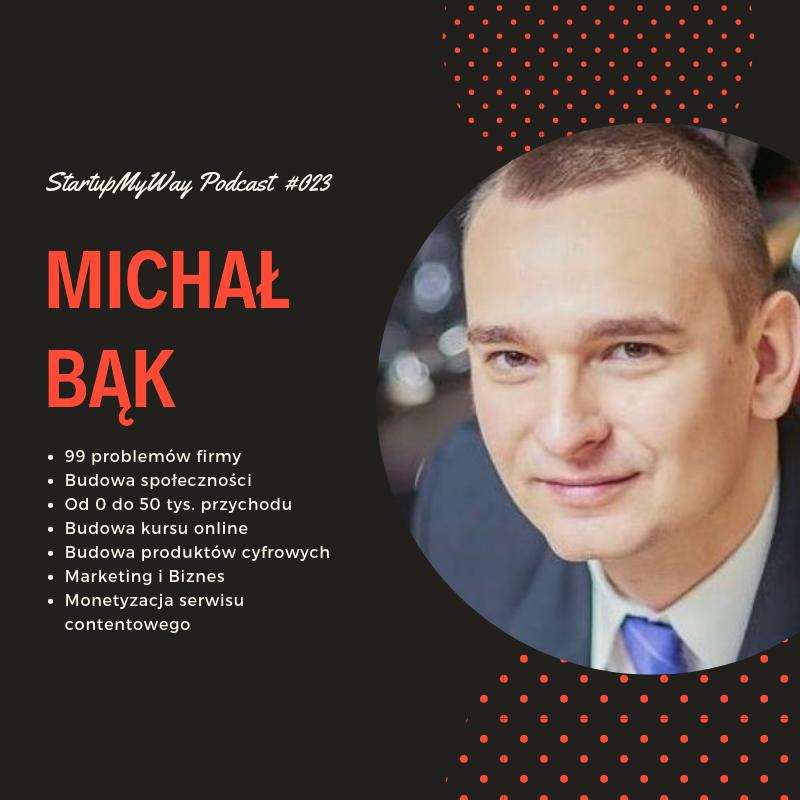 SMW - podcast #023 - Michał Bąk